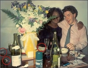 George Osbourne and friend
